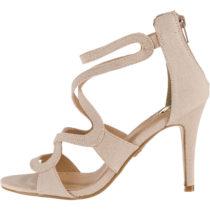 BUFFALO 315972 T-Steg-Sandaletten nude Damen Gr. 38