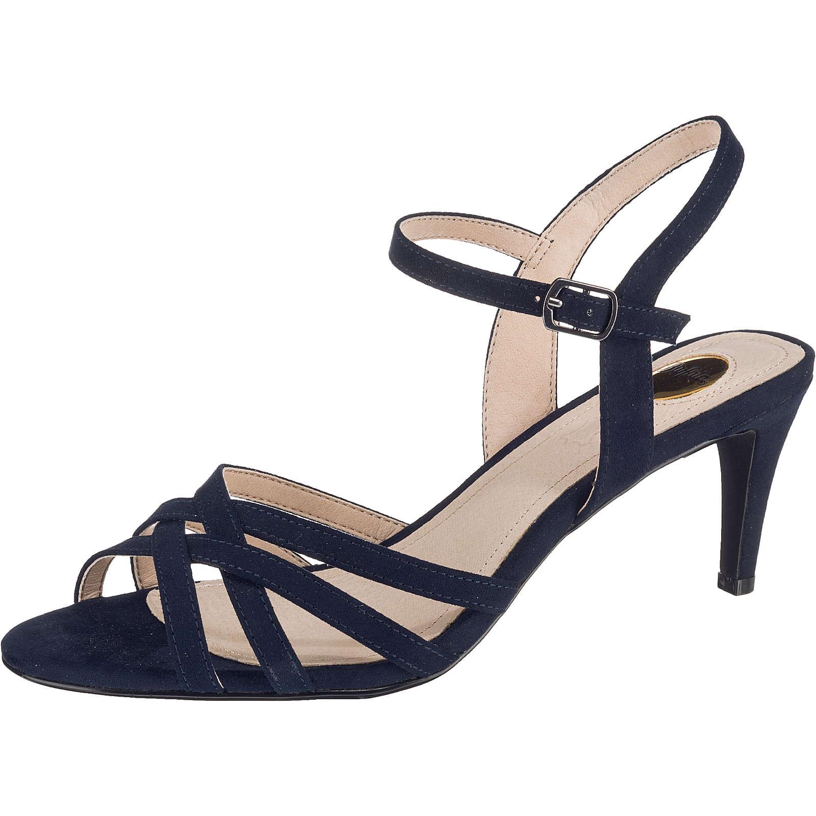 BUFFALO Agneta Klassische Sandaletten dunkelblau Damen Gr. 39