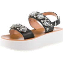 BUFFALO Klassische Sandalen schwarz Damen Gr. 36