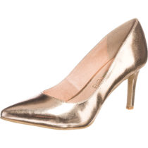 BUFFALO Pumps gold Damen Gr. 38