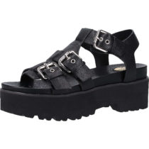 BUFFALO Sandalen Klassische Sandaletten schwarz Damen Gr. 37
