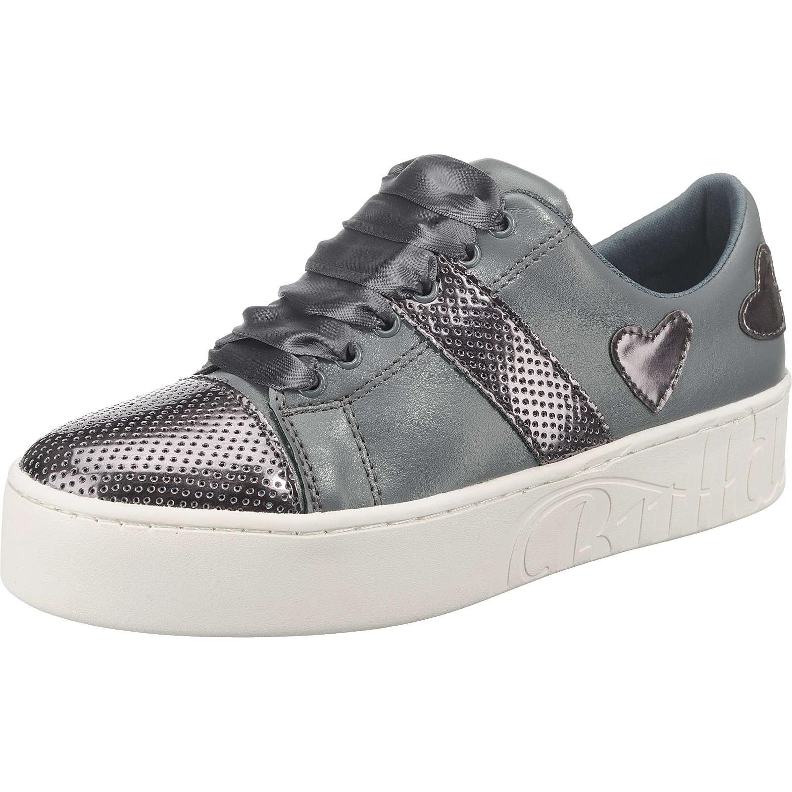 BUFFALO Sneakers Low dunkelgrau Damen Gr. 41
