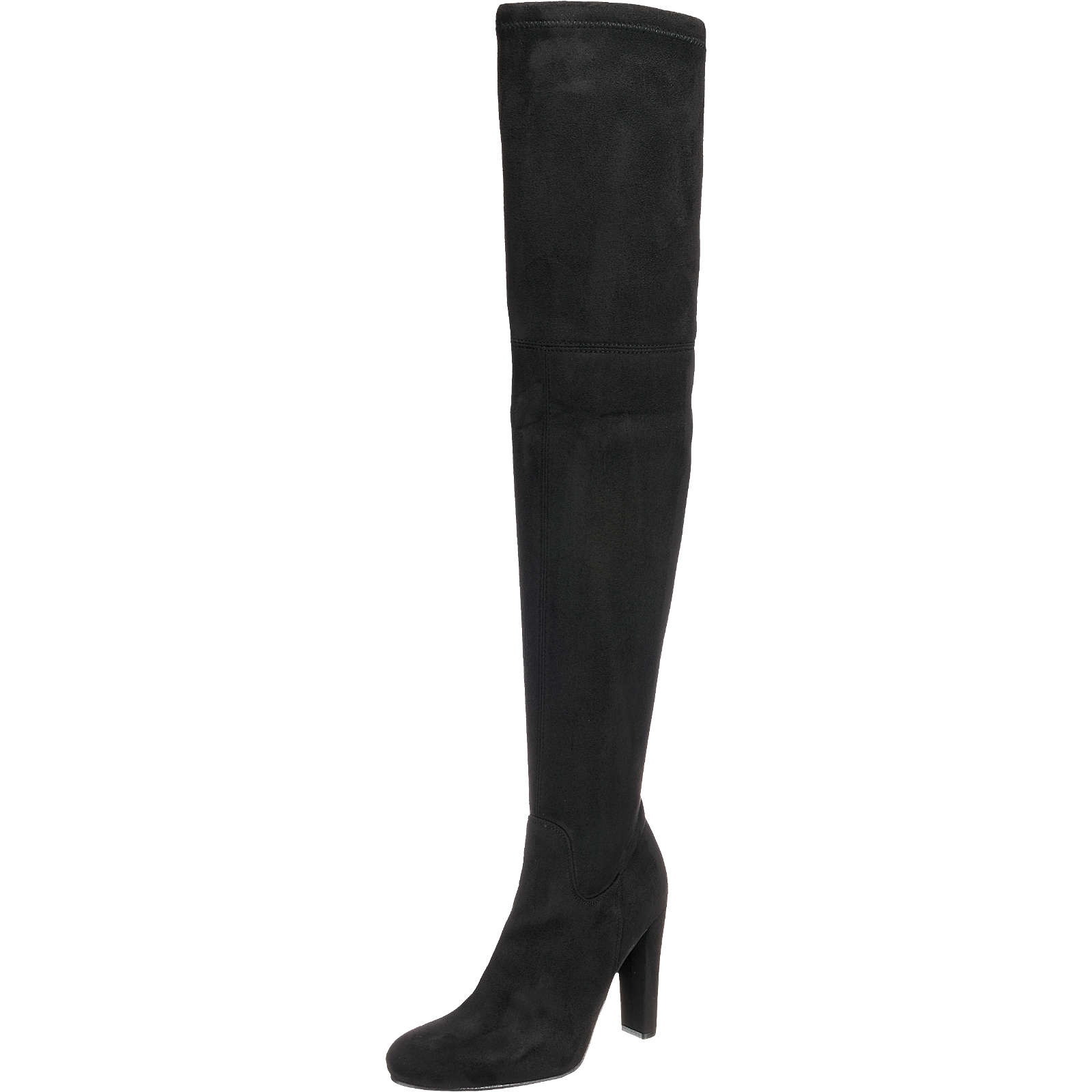 BUFFALO Klassische Stiefel schwarz Damen Gr. 38