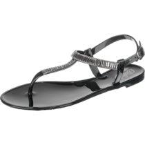BUFFALO T-Steg-Sandalen schwarz Damen Gr. 39