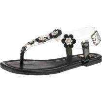BUFFALO T-Steg-Sandalen schwarz Damen Gr. 38