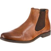 bugatti Abramo Chelsea Boots cognac Herren Gr. 40