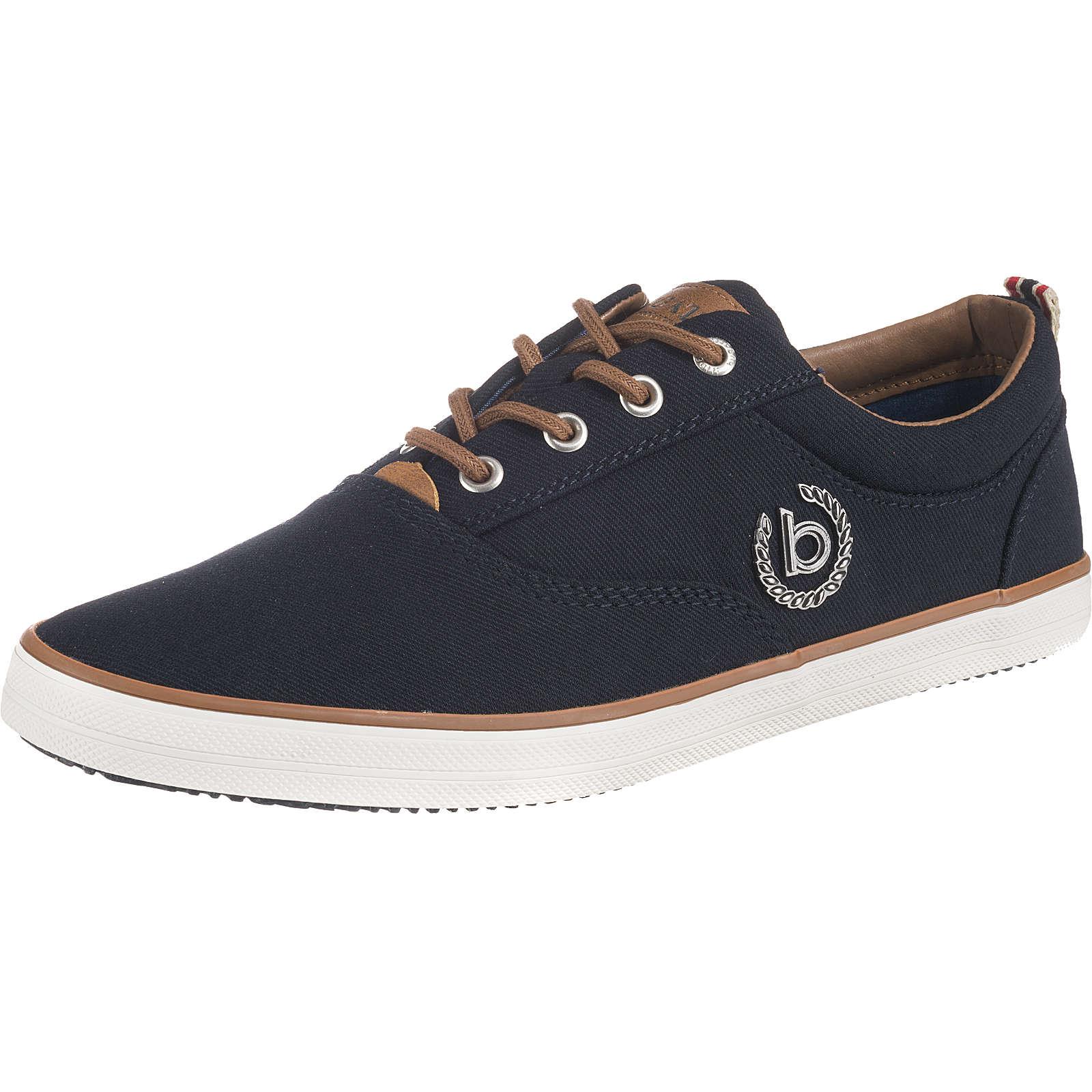 bugatti Alfa Sneakers Low dunkelblau Herren Gr. 42