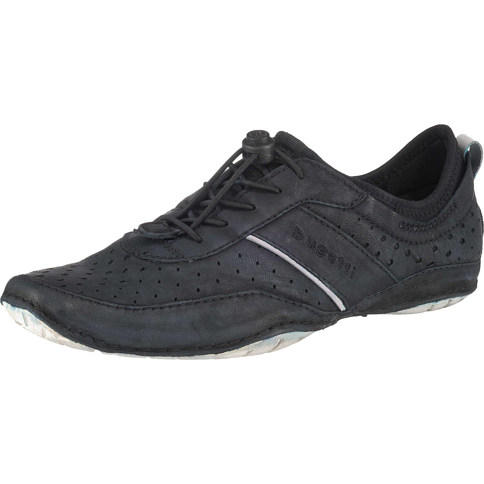 bugatti Chambao Sneakers Low schwarz Herren Gr. 41
