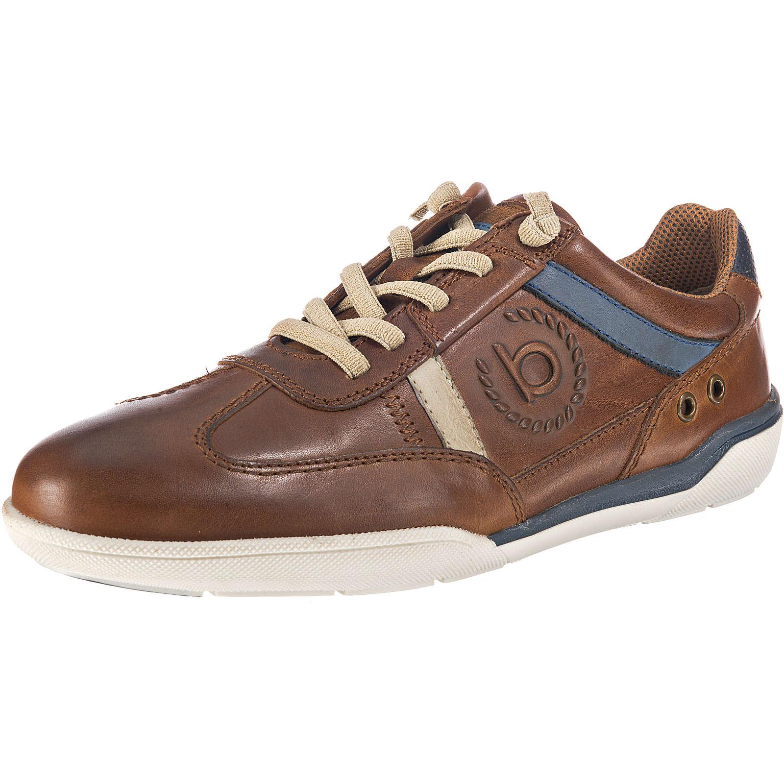 bugatti Sneakers Low cognac Herren Gr. 40