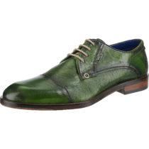 bugatti Zefferino Business-Schnürschuhe grün Herren Gr. 41