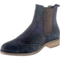 BULLBOXER Chelsea Boots dunkelblau Damen Gr. 36