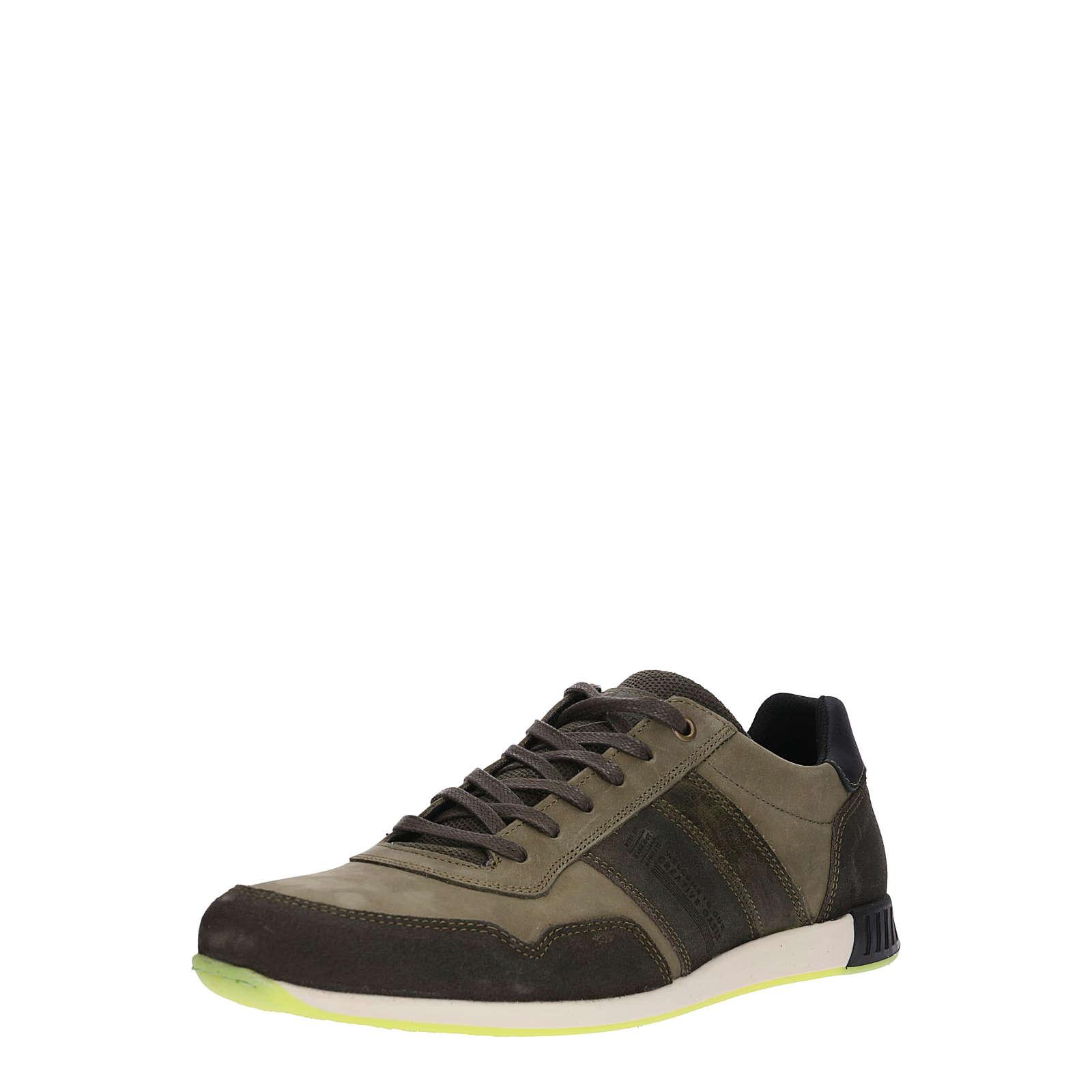 BULLBOXER Sneaker low Sneakers Low oliv Herren Gr. 41