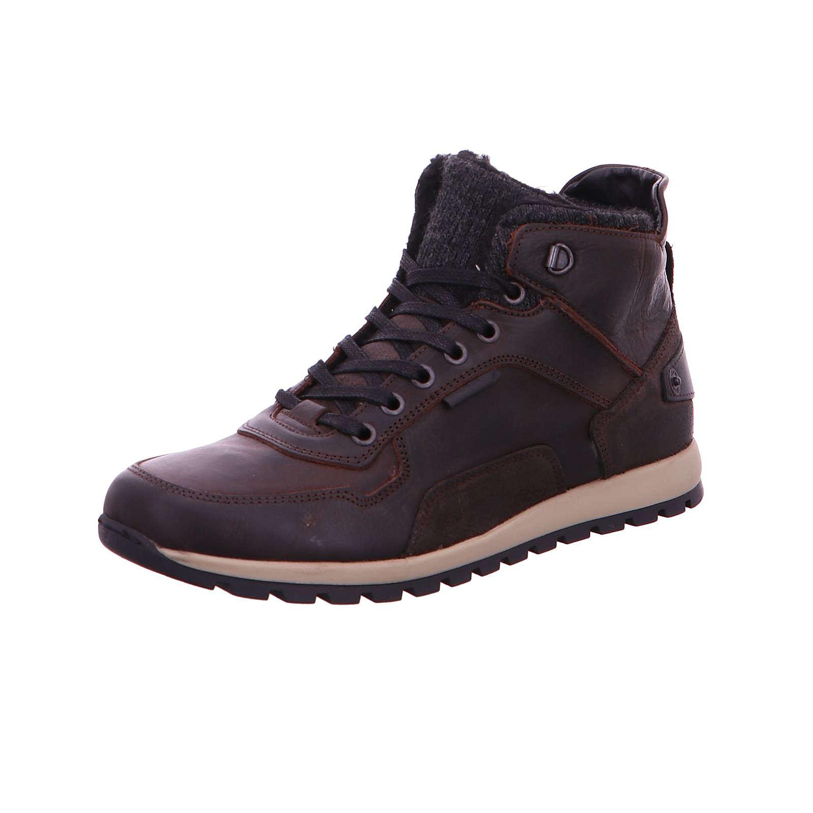 BULLBOXER Sneakers High braun Herren Gr. 41
