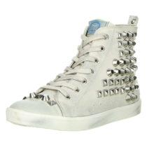 BULLBOXER Sneakers High weiß Damen Gr. 36