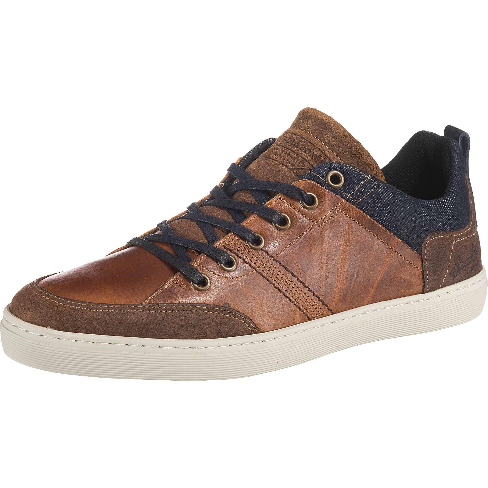 BULLBOXER Sneakers Low cognac Herren Gr. 44