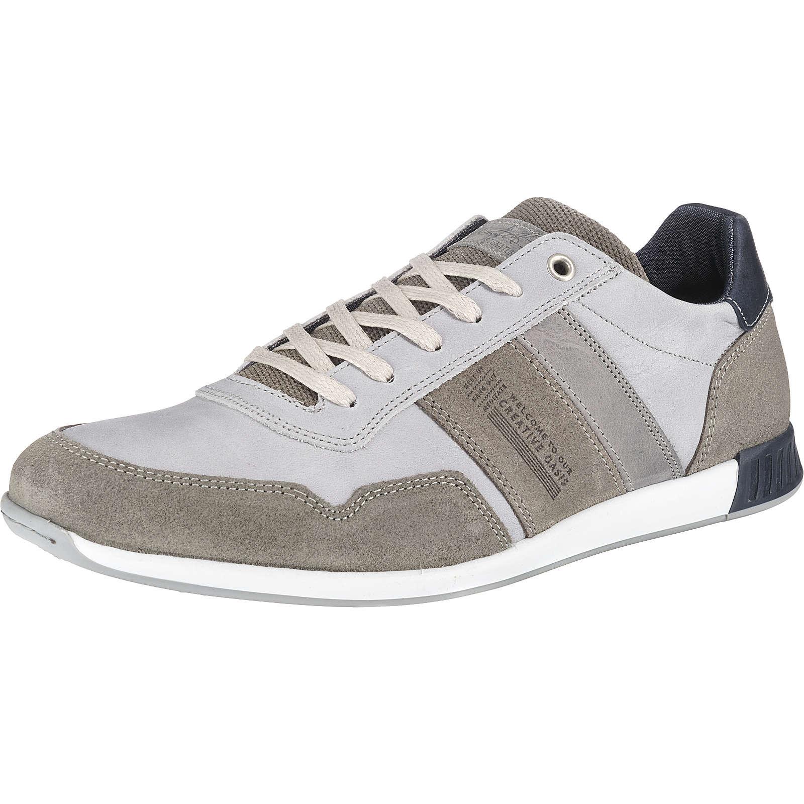 BULLBOXER Sneakers Low grau Herren Gr. 43