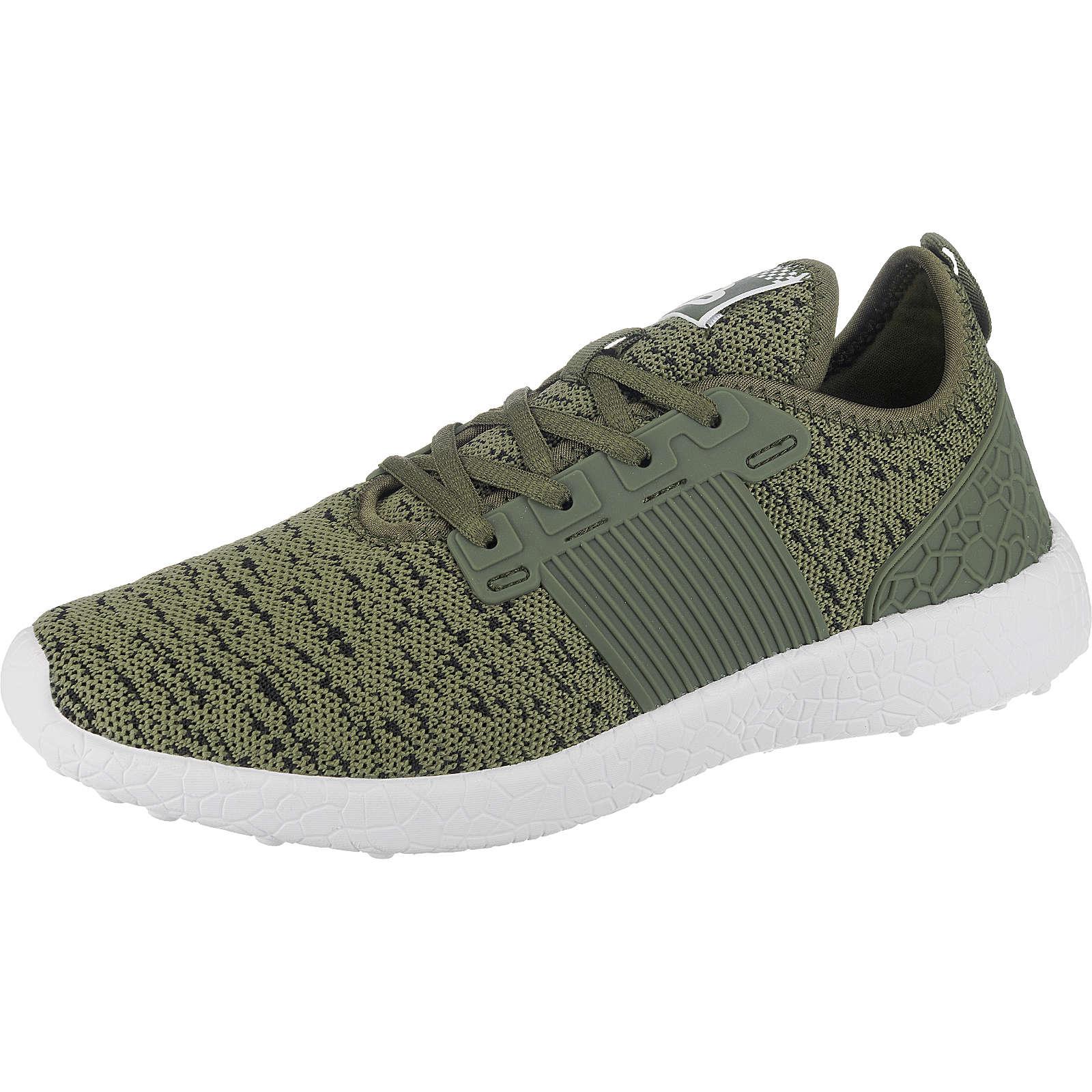 BULLBOXER Sneakers Low grün Herren Gr. 44