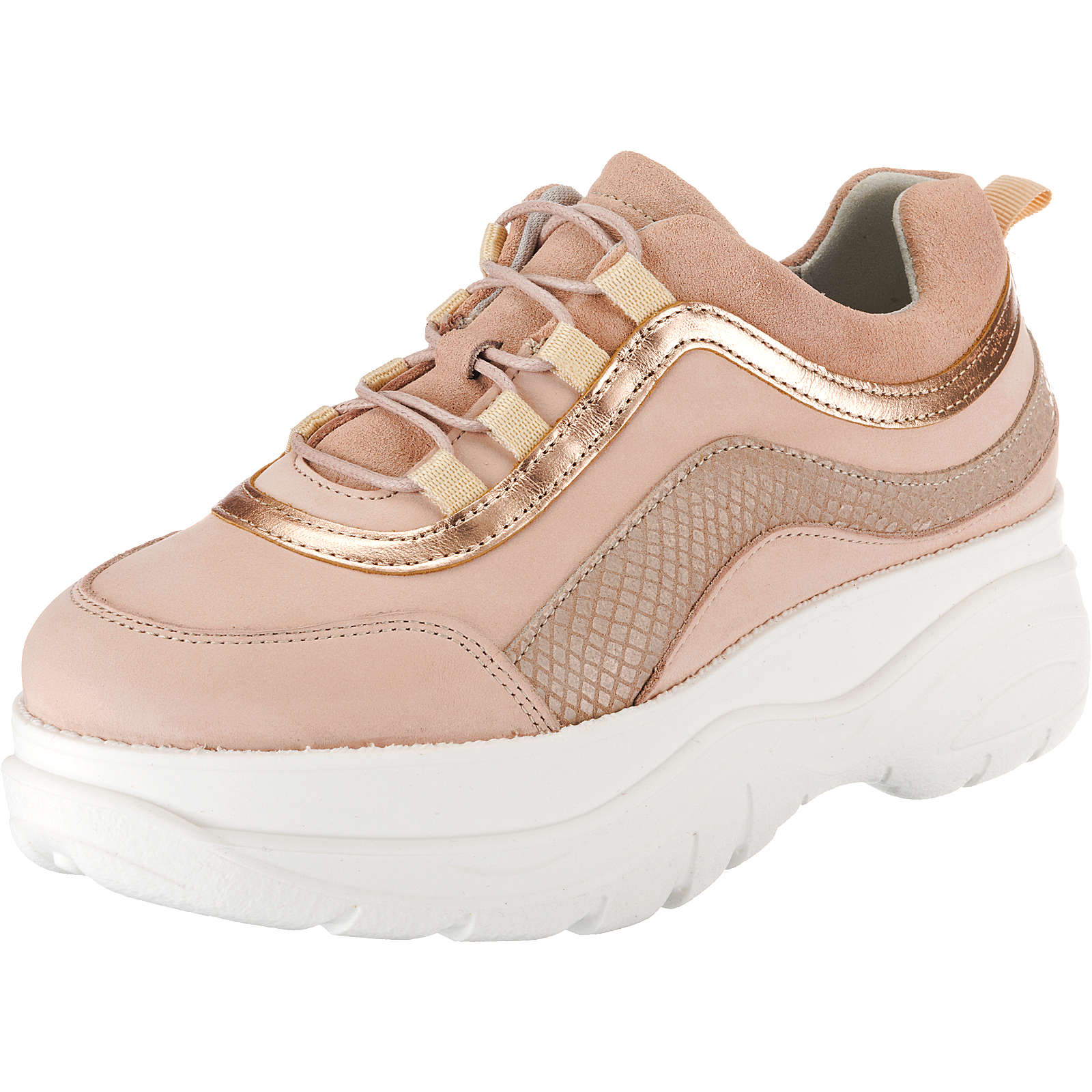 BULLBOXER Sneakers Low rosa Damen Gr. 37