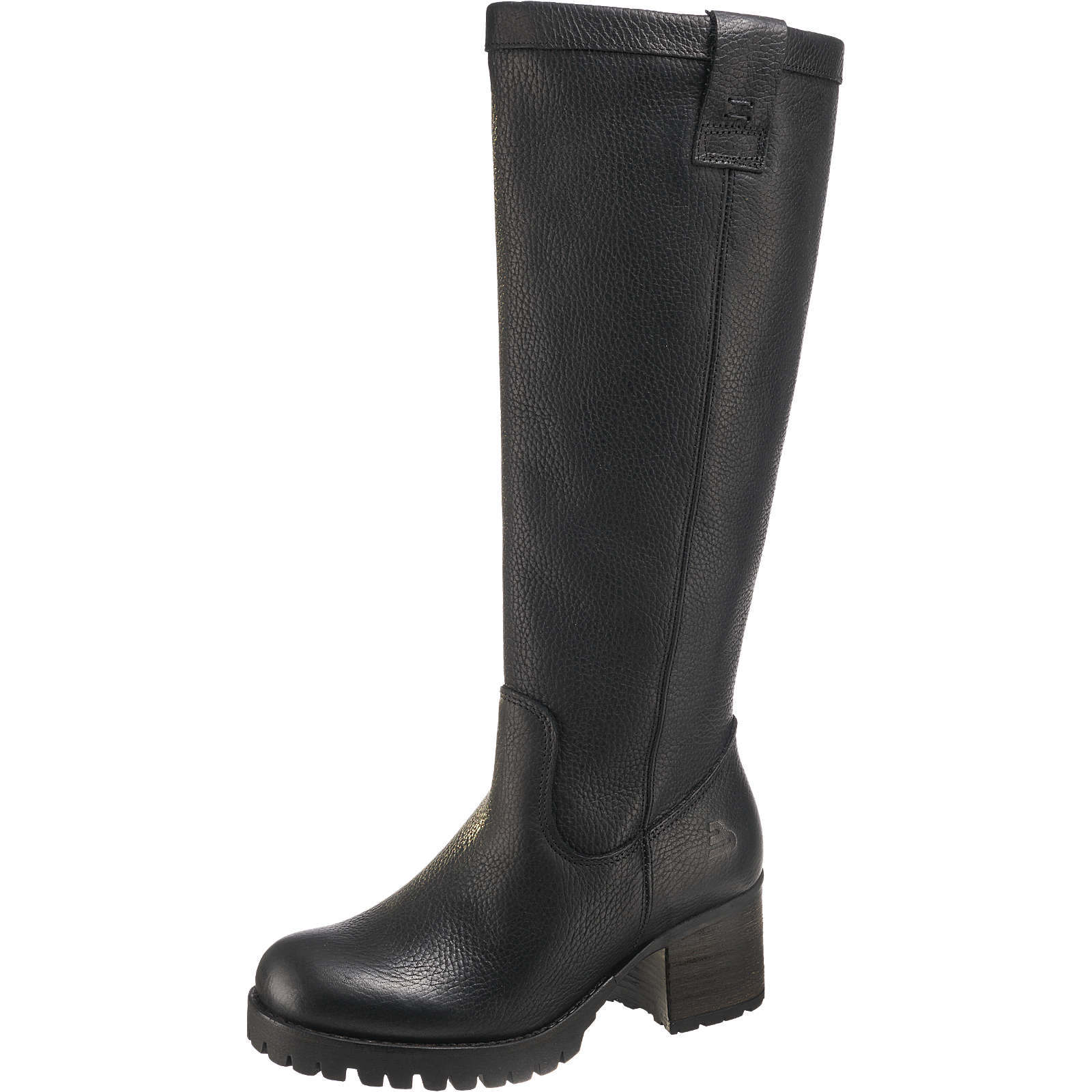 BULLBOXER Klassische Stiefel schwarz Damen Gr. 36