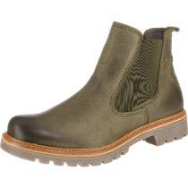 camel active Canberra 72 Chelsea Boots dunkelgrün Damen Gr. 37