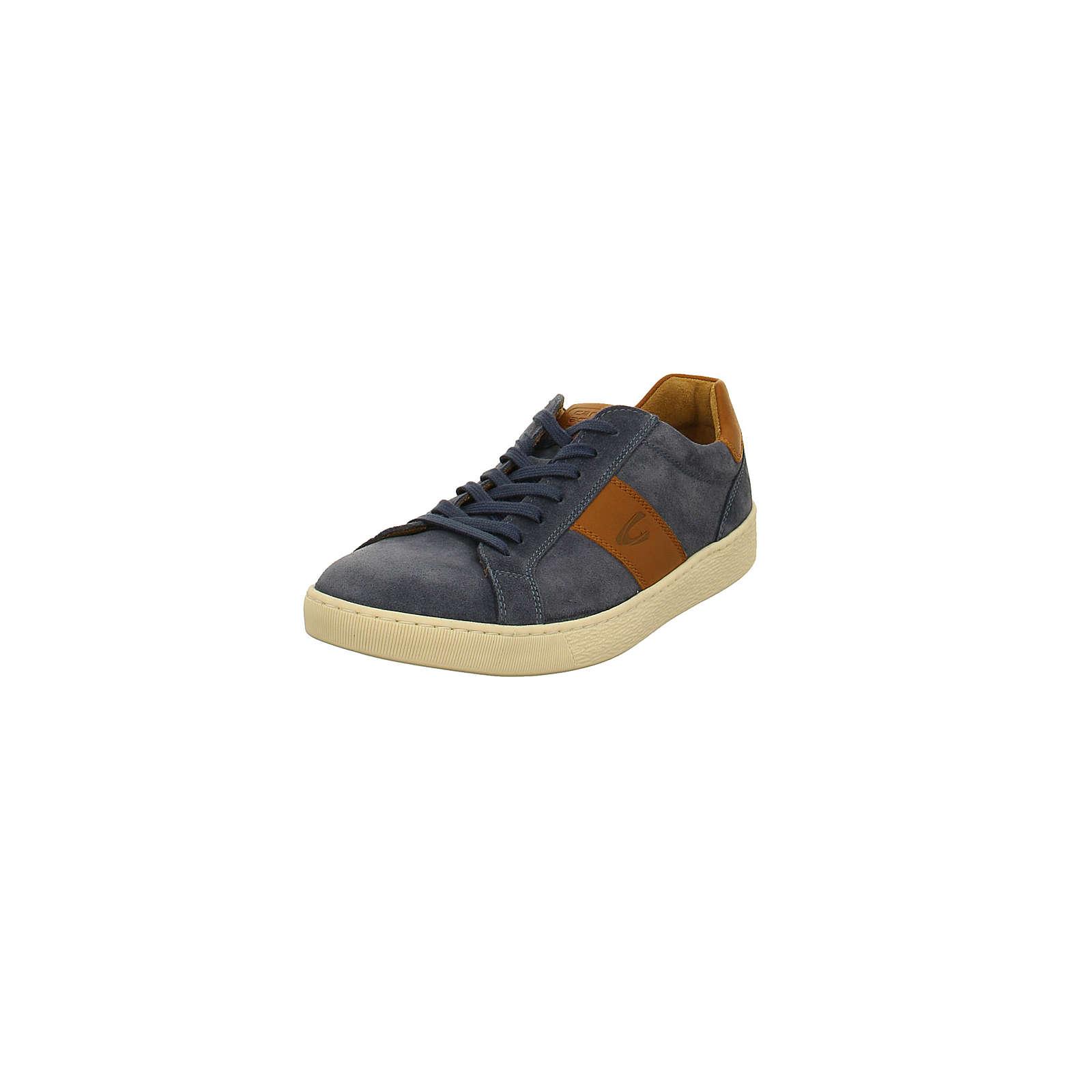 Camel active Herren Sneaker – Tonic – Veloursleder in blau – 537.11.03 Sneakers Low blau Herren Gr. 41