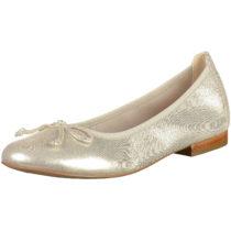 CAPRICE Klassische Ballerinas gold Damen Gr. 41