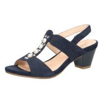 CAPRICE Klassische Sandaletten dunkelblau Damen Gr. 38