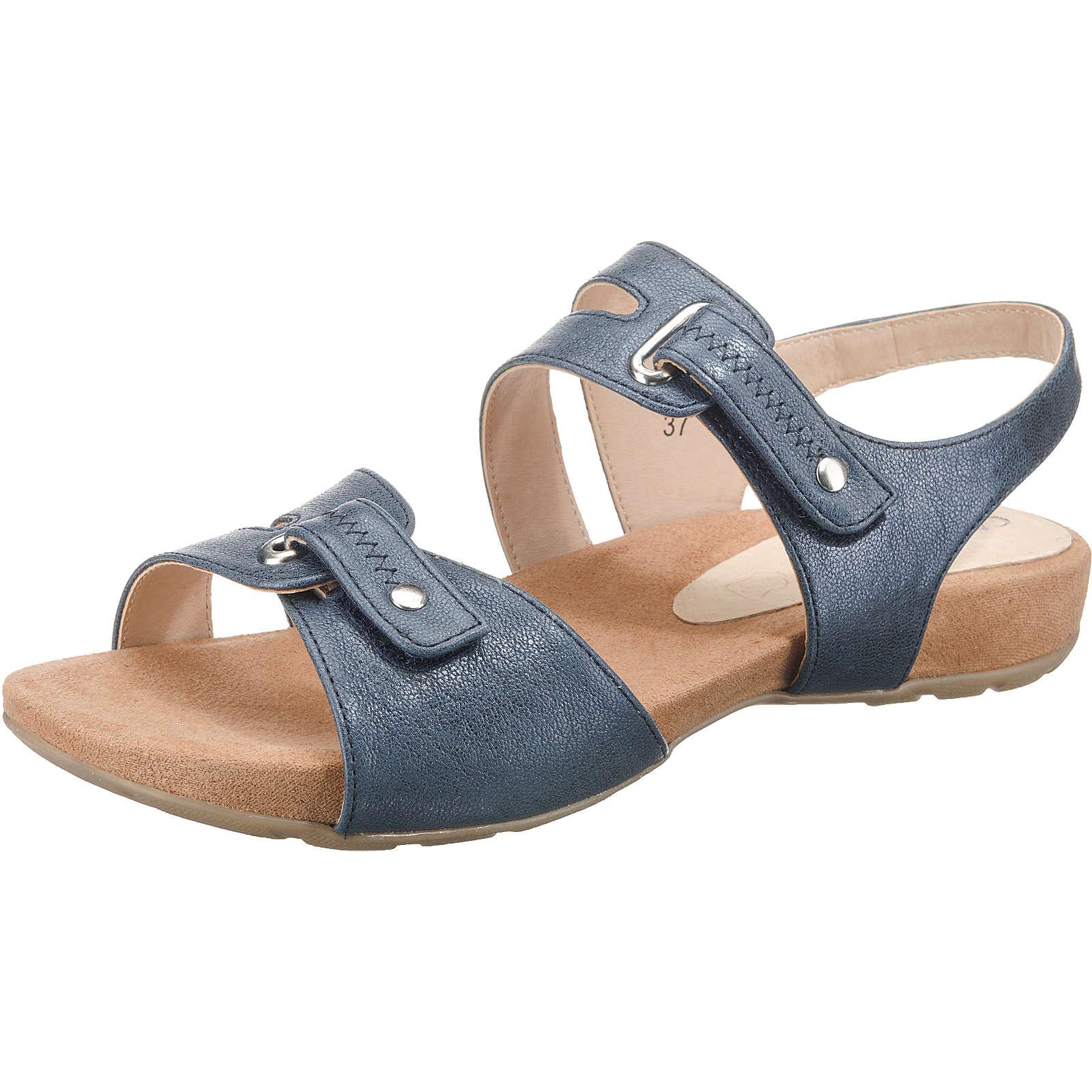 CAPRICE Komfort-Sandalen blau-kombi Damen Gr. 40