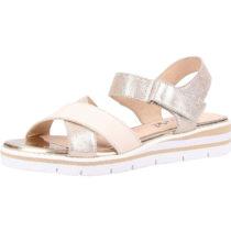 CAPRICE Sandalen Klassische Sandaletten beige Damen Gr. 36