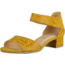 CAPRICE Sandalen Klassische Sandaletten gelb Damen Gr. 36