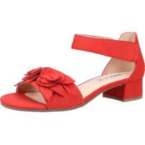 CAPRICE Sandalen Klassische Sandaletten rot Damen Gr. 37