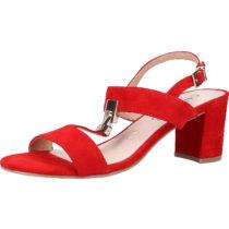 CAPRICE Sandalen Klassische Sandaletten rot Damen Gr. 38