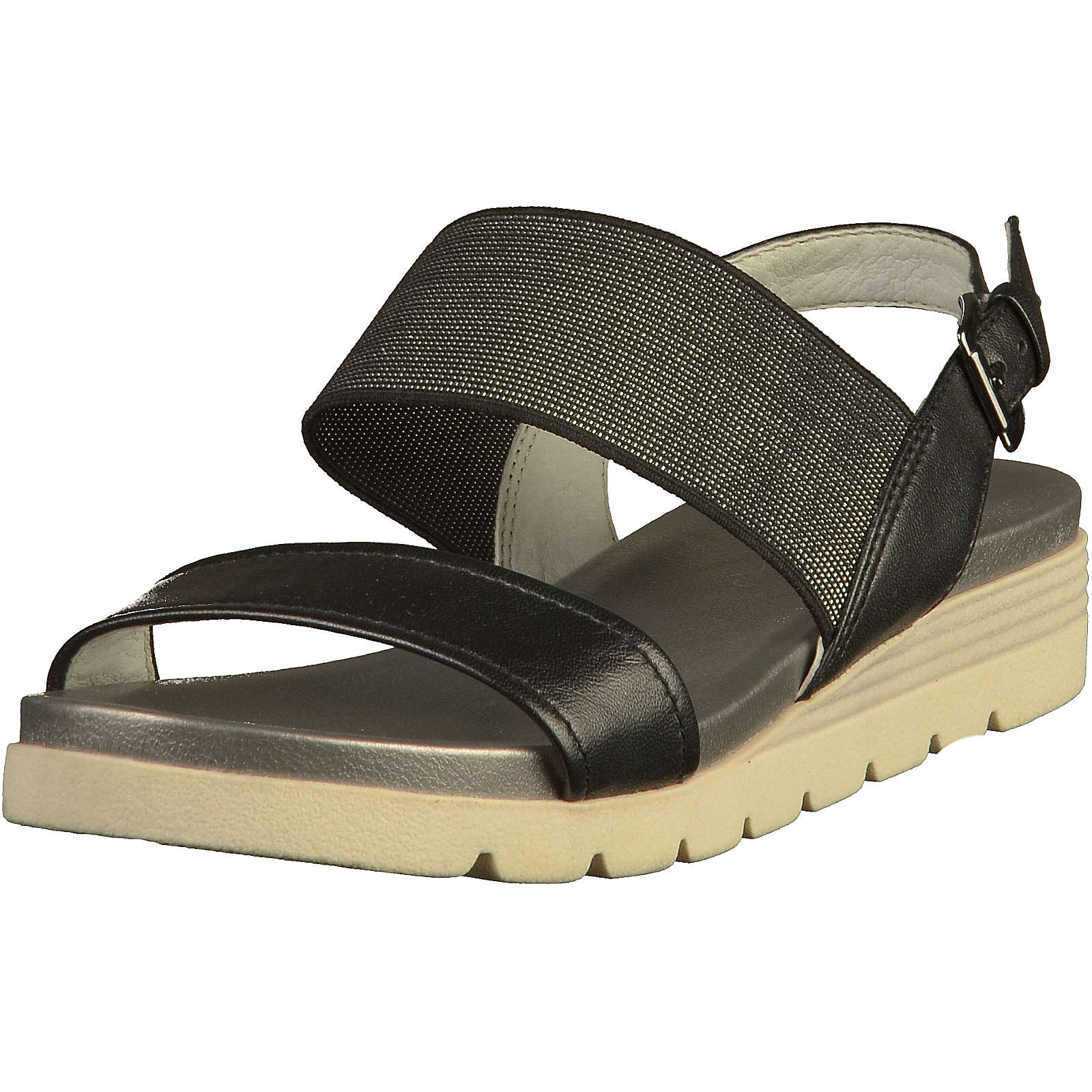 CAPRICE Sandalen Klassische Sandaletten schwarz Damen Gr. 41