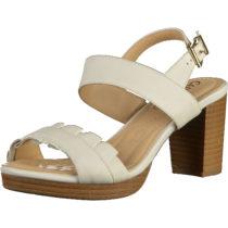 CAPRICE Sandalen Klassische Sandaletten weiß Damen Gr. 36