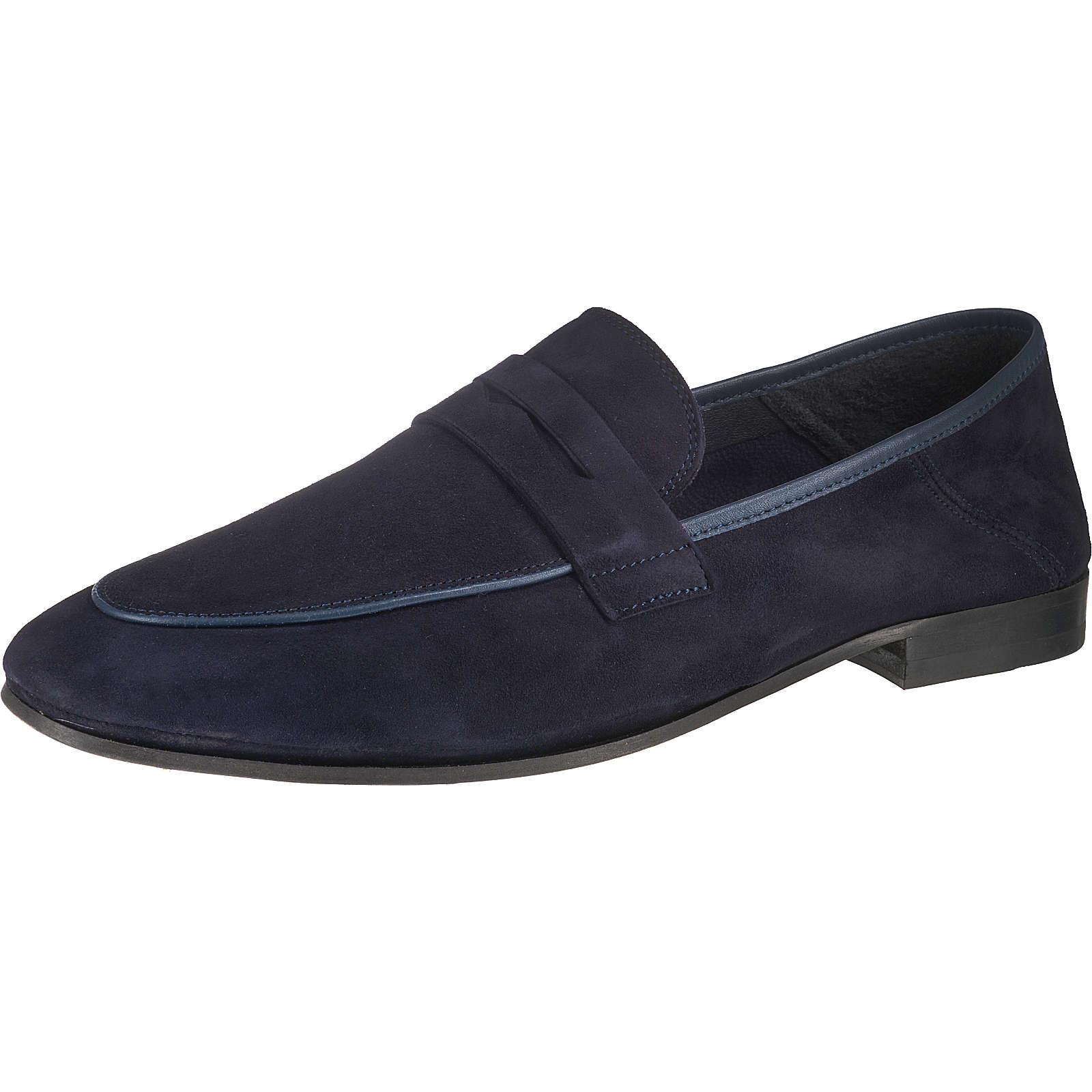 CINQUE 51819 Klassische Slipper dunkelblau Herren Gr. 45