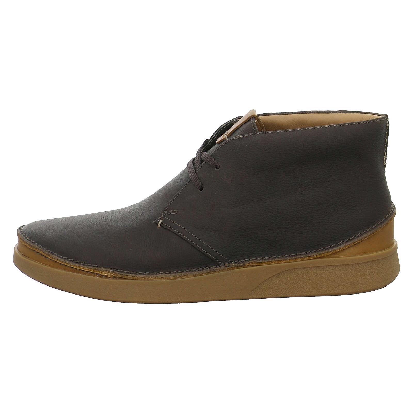 Clarks Boots Oakland Rise braun Herren Gr. 45
