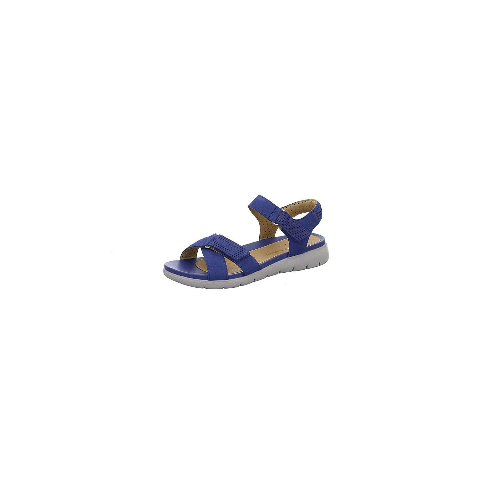 Clarks Komfort-Sandalen blau Damen Gr. 37