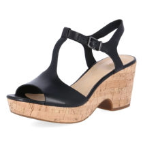 Clarks Sandaletten MARITSA CARIE Klassische Sandalen schwarz Herren Gr. 36