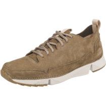 Clarks Tri Spark Sneakers Low khaki Herren Gr. 41