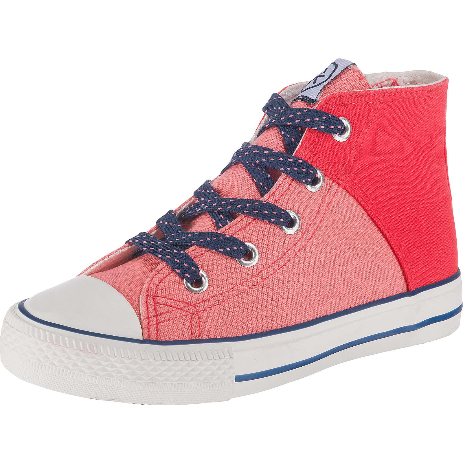 COLOR KIDS Kinder Sneakers High Vaage koralle Mädchen Gr. 25