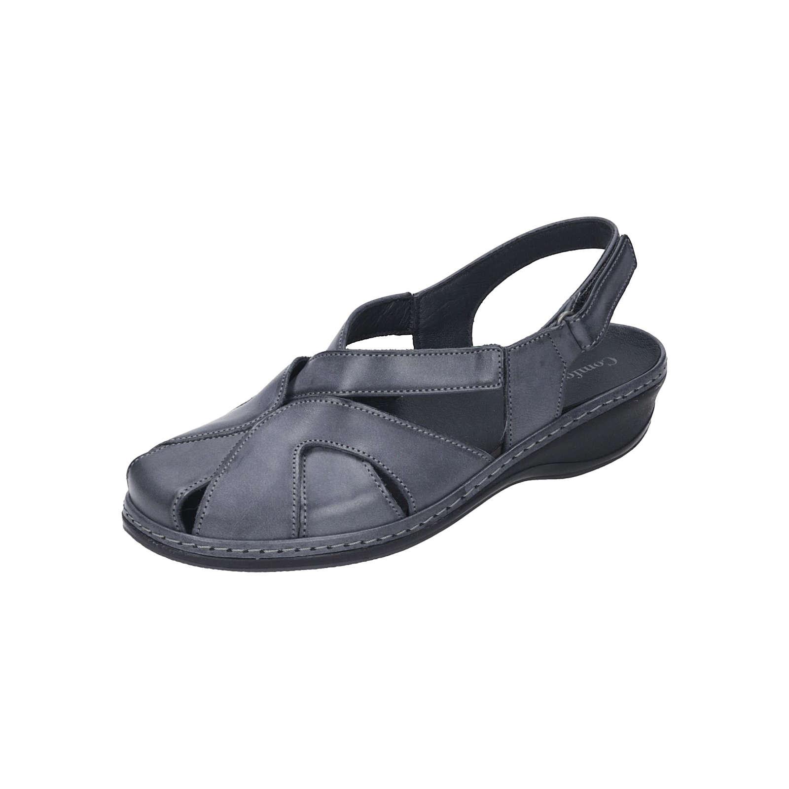 Comfortabel Damen Sling Komfort-Sandalen grau Damen Gr. 41