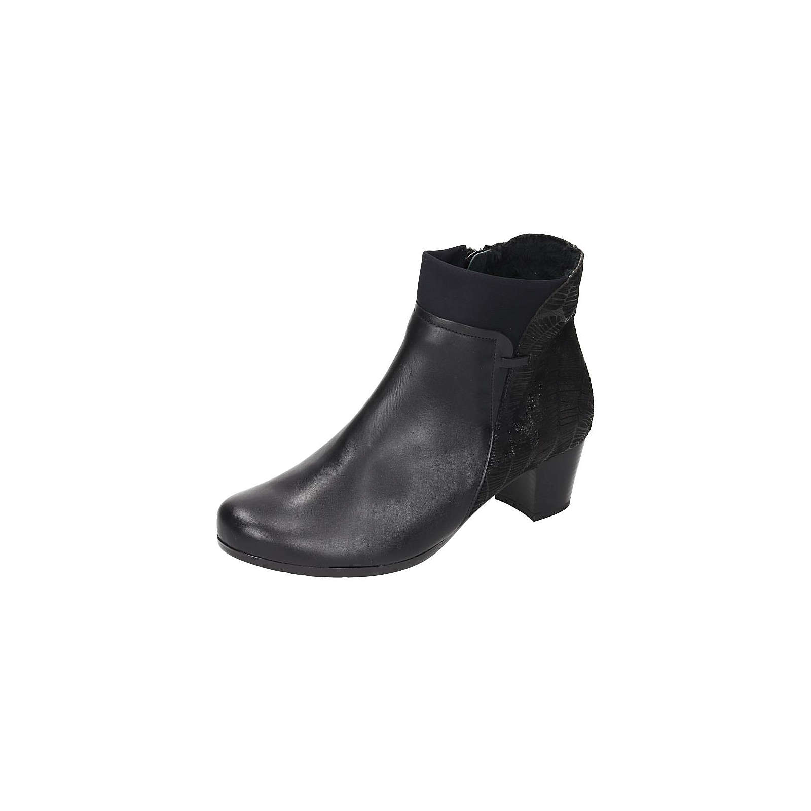 Comfortabel Damen Stiefelette schwarz Damen Gr. 39