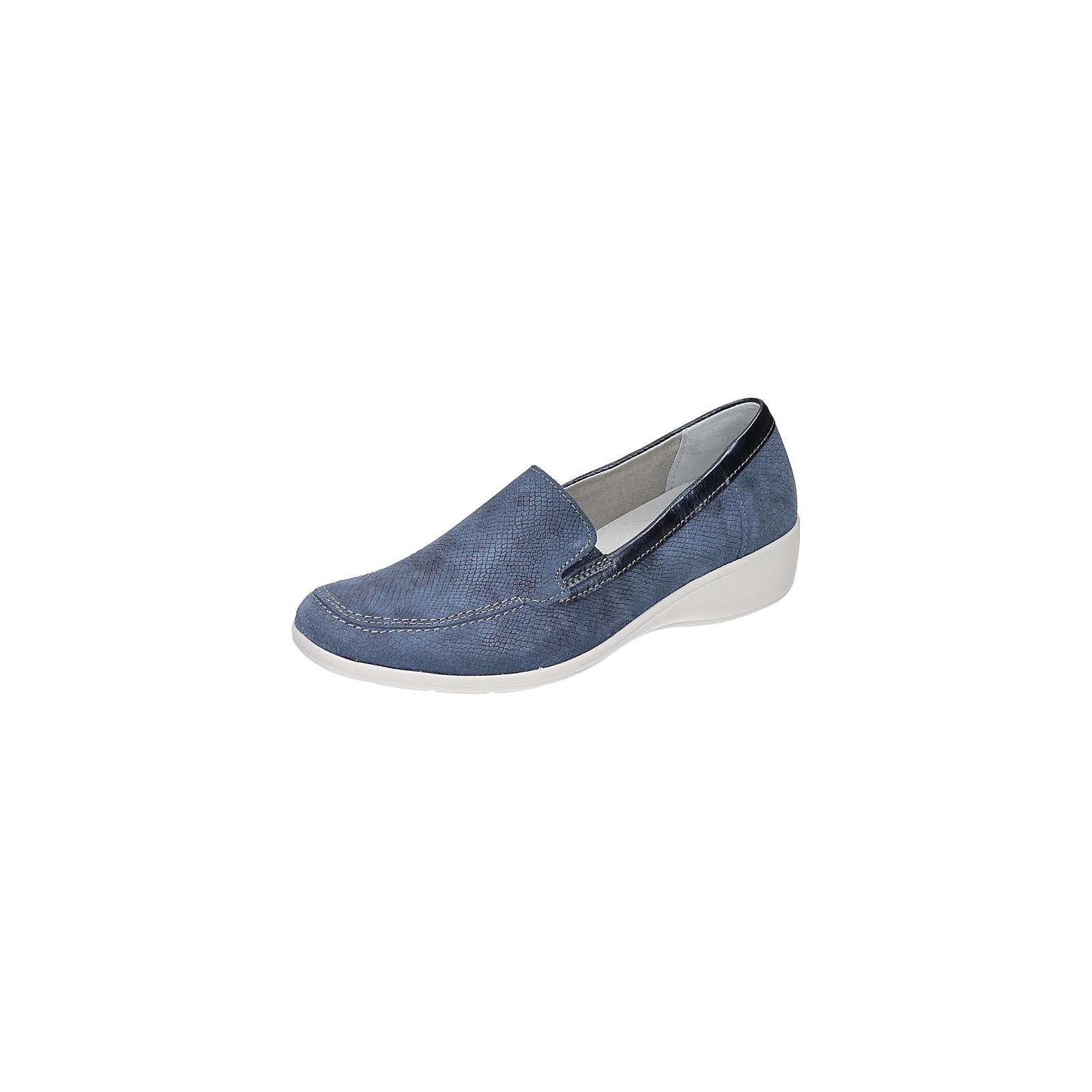 Comfortabel Klassische Slipper blau Damen Gr. 37