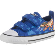 CONVERSE Baby Sneakers Low CTAS 2V OX BLUE/BLACK/WHITE für Jungen blau Junge Gr. 26