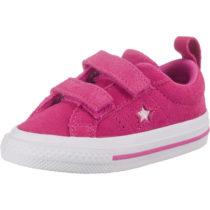 CONVERSE Baby Sneakers Low ONE STAR 2V OX ACTIVE FUCHSIA für Mädchen pink Mädchen Gr. 21