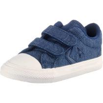 CONVERSE Baby Sneakers Low STAR PLAYER 2V OX NAVY/EGRET/BROWN für Jungen blau Junge Gr. 20