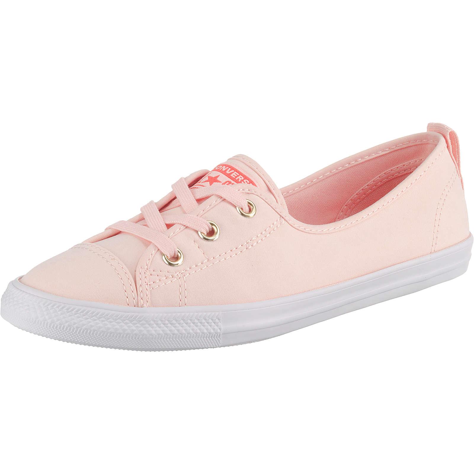 CONVERSE Chuck Taylor All Star Ballet Lace Slip Sneakers Low rosa Damen Gr. 42,5