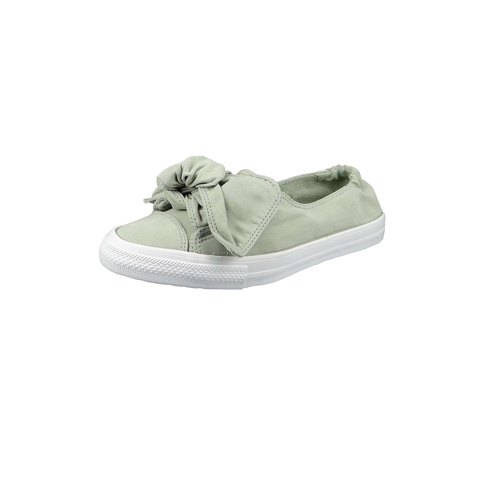 CONVERSE CHUCK TAYLOR ALL STAR KNOT – SLIP Sneakers Low hellgrün Damen Gr. 37,5