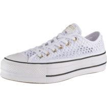 CONVERSE Chuck Taylor All Star Lift Ox Sneakers Low weiß Damen Gr. 41,5