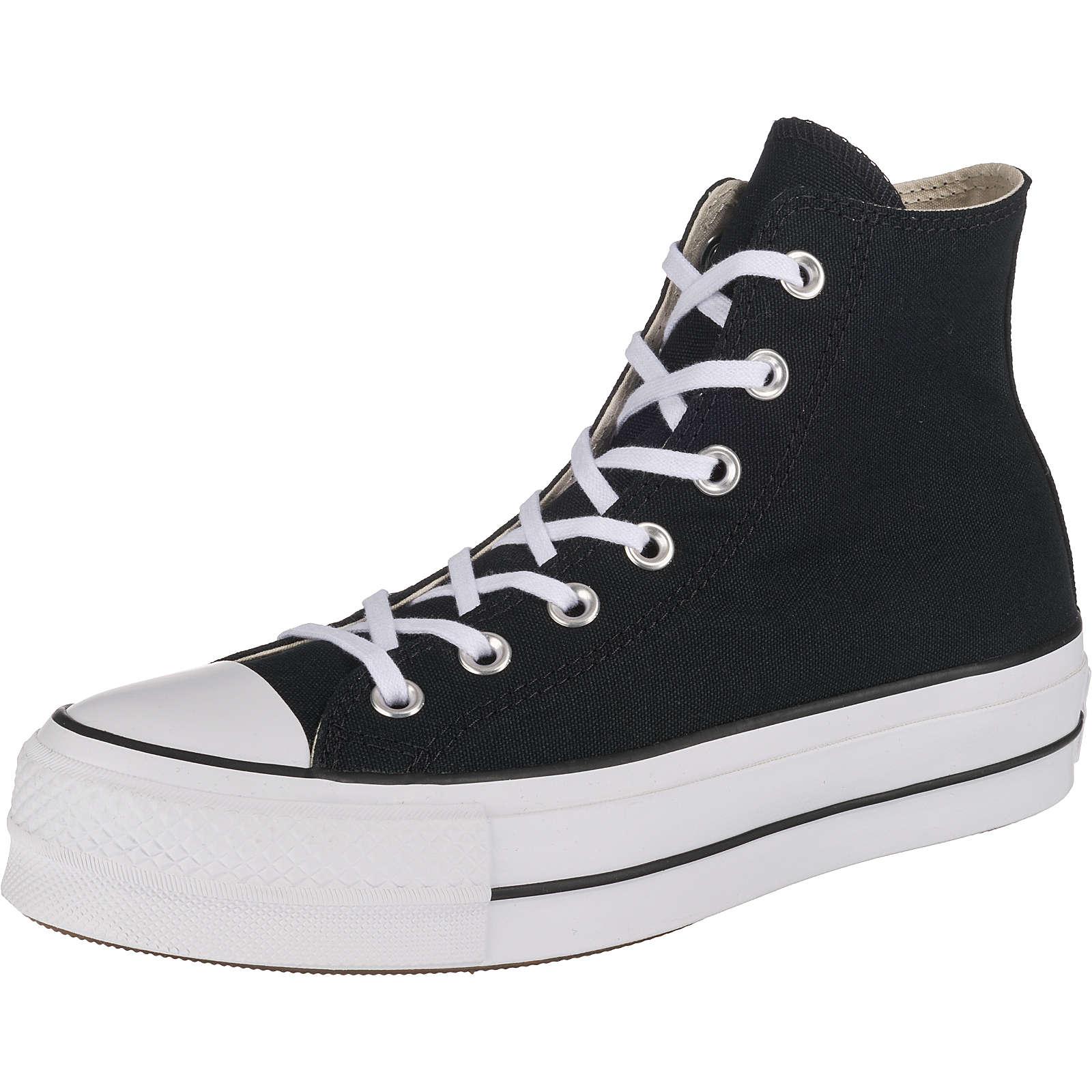 CONVERSE Chuck Taylor All Star Lift Sneakers High schwarz Damen Gr. 41,5